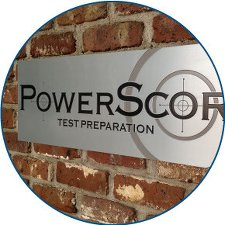 PowerScore sign