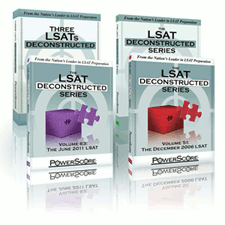 The LSAT Deconstructed Six Pack