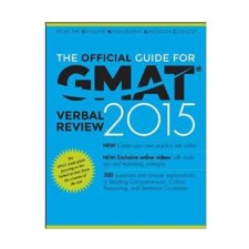 The Official Guide for GMAT® Verbal Review 2015