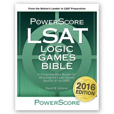 The LSAT Logic Games Bible