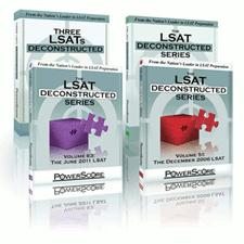 The LSAT Deconstructed Six Pack